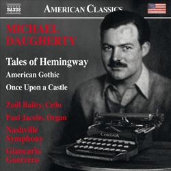 """Grammy Award Winner """"Tales of Hemingway"""" by Micahel Daugherty"""